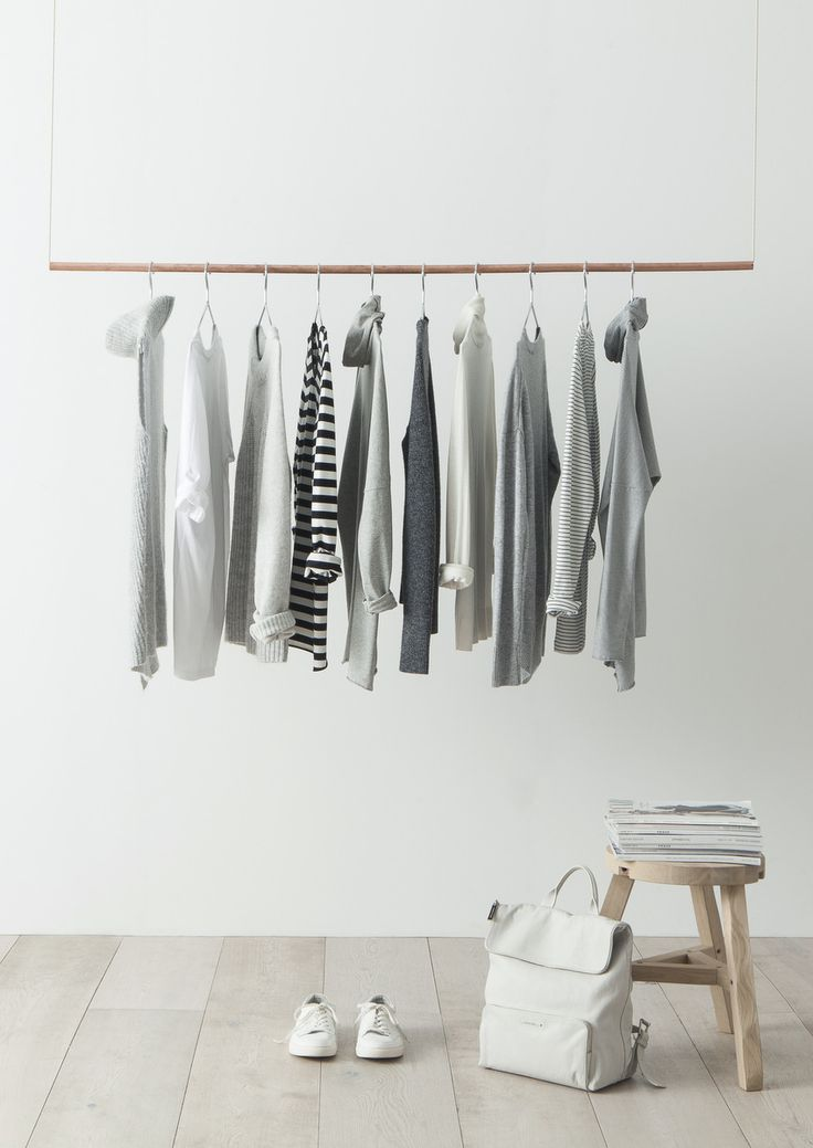 Monday Mood Building A Minimalist Wardrobe