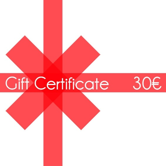 Christmas gift certificate 30 - InconnuLAB.