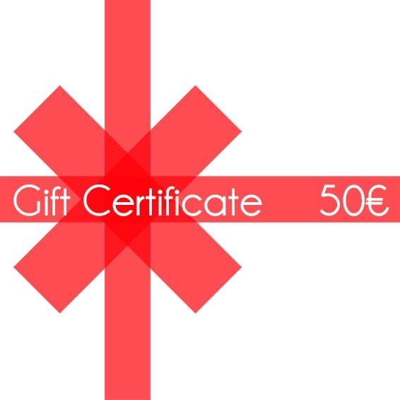 Christmas gift certificate 50 - InconnuLAB.